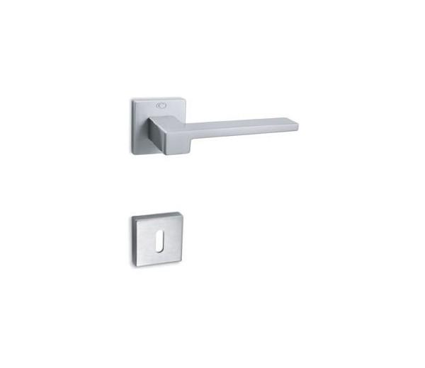 Interierová kľučka COBRA 29-25-1  WC chróm matný