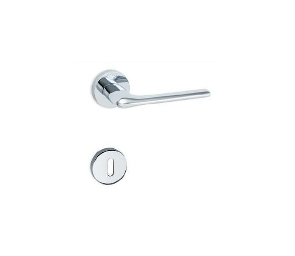 Interierová kľučka COBRA 29-28-1 WC chróm lesklý