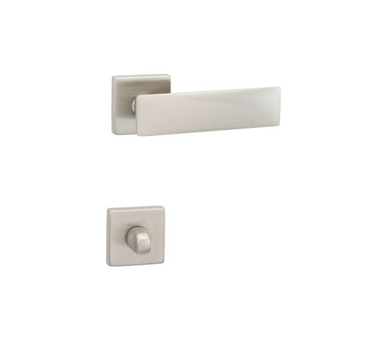Interierová kľučka COBRA 28-35-6 WC nikel matný