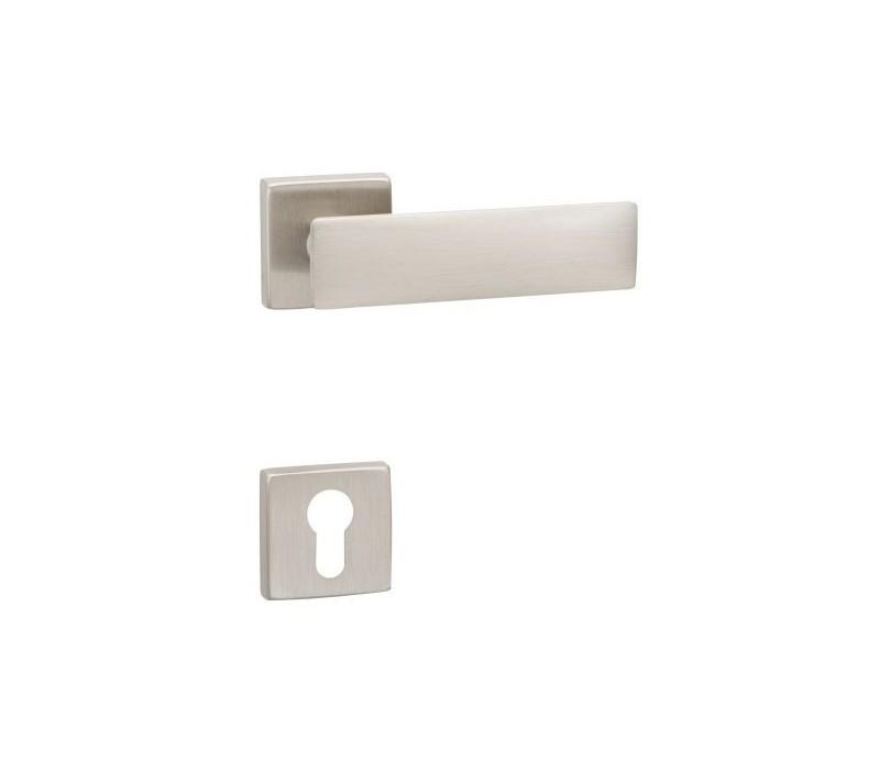 Interiérová kľučka COBRA 28-37-1 PZ nikel matný
