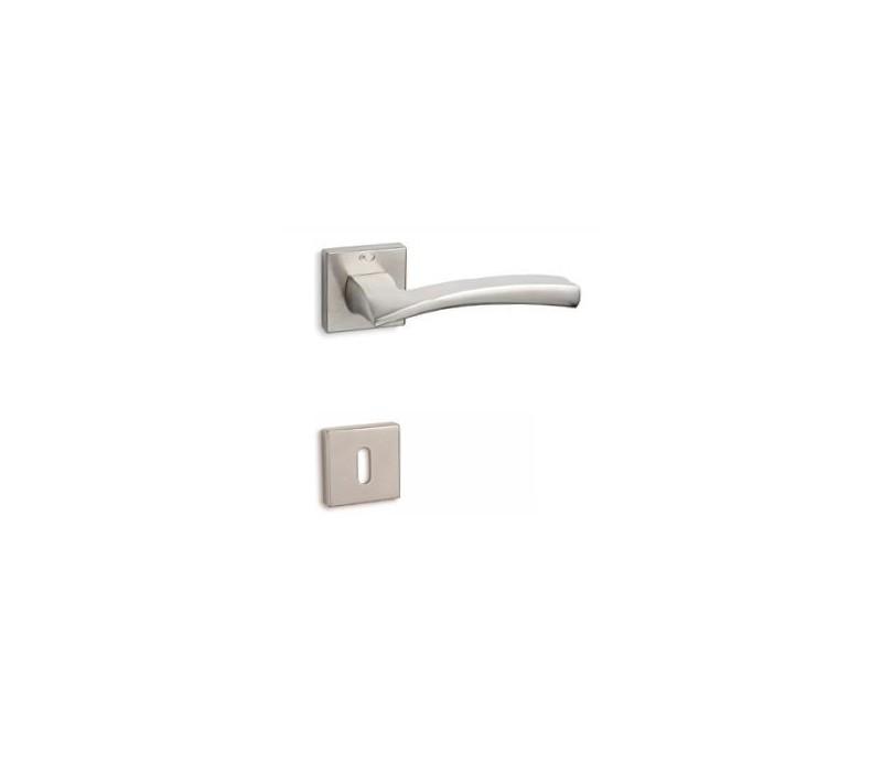 Interierová kľučka COBRA 28-37-2 WC nikel matný