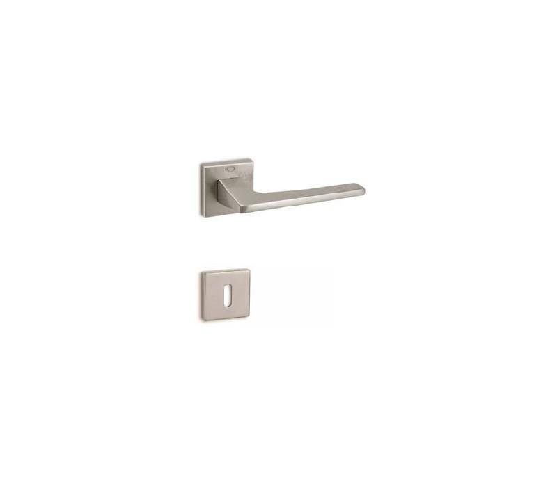 Interierová kľučka COBRA 28-37-4 WC nikel matný