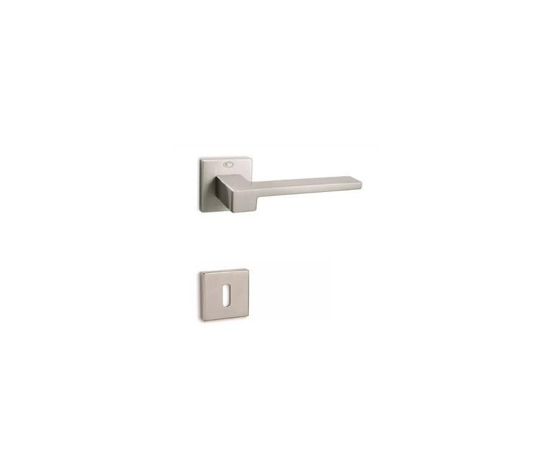 Interiérová kľučka COBRA 28-38-2 PZ nikel matný