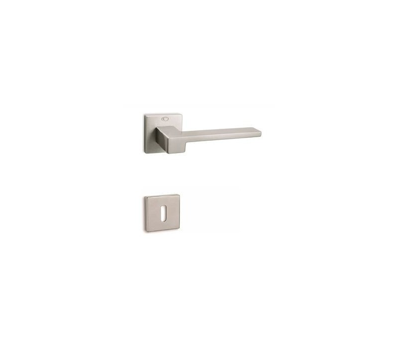 Interierová kľučka COBRA 28-38-2 WC nikel matný