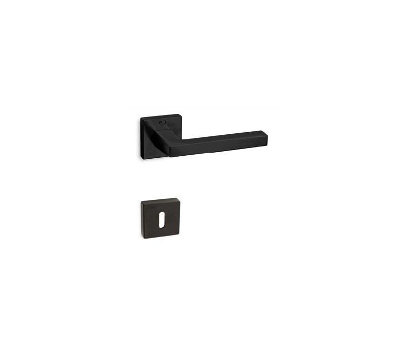 Interiérová kľučka COBRA 28-41-6 PZ nikel čierny