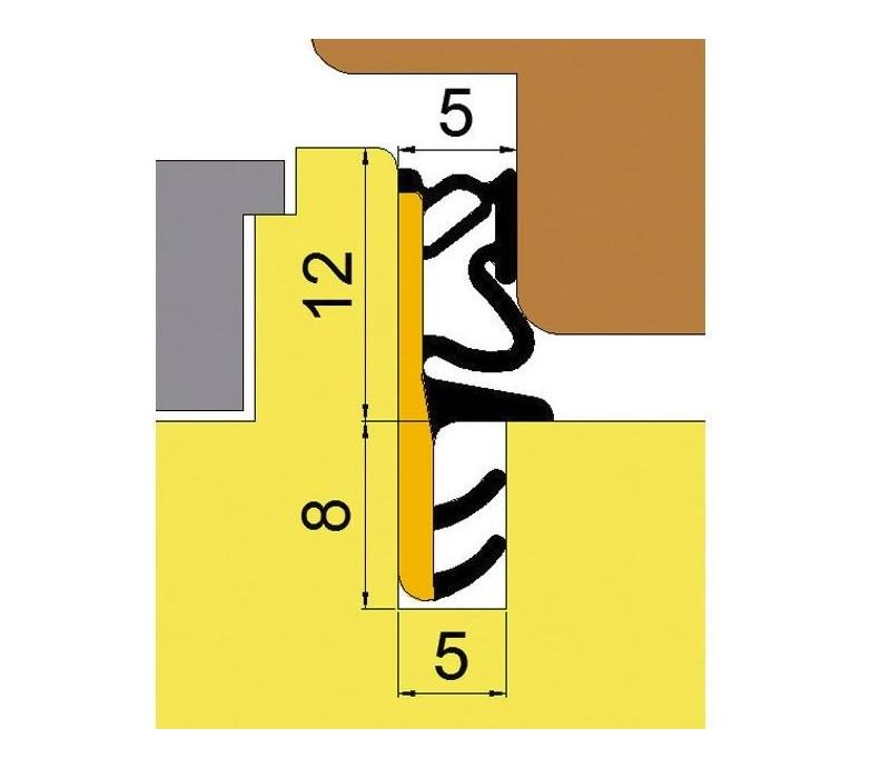 Okenné stredové tesnenie L6050