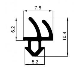 Tesnenie do PVC okien - profil REHAU