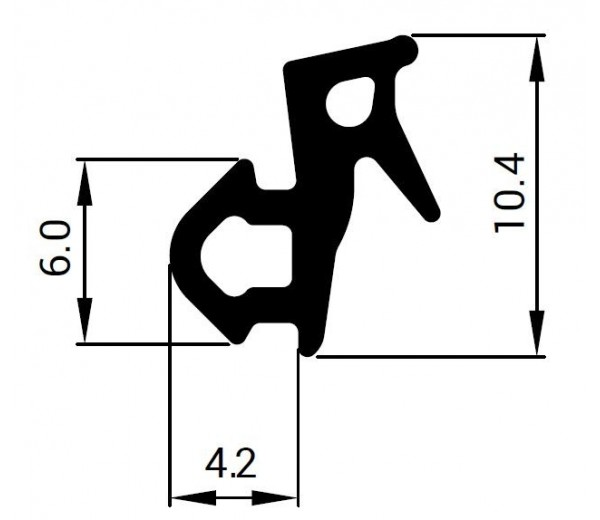 Tesnenie do PVC okien - profil VEKA
