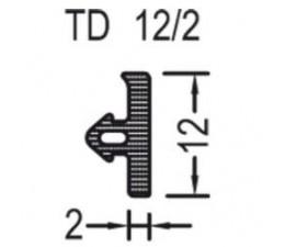 Tesnenie TD 12/2 k prahu Weser
