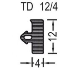 Tesnenie TD 12/4 k prahu Weser