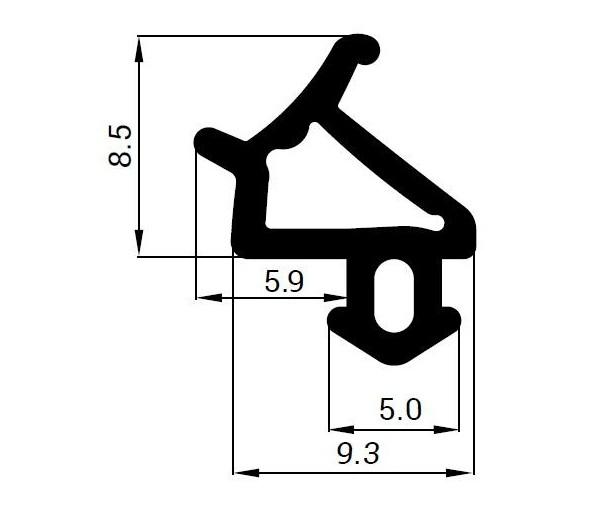 Tesnenie do PVC okien - ostatné okná
