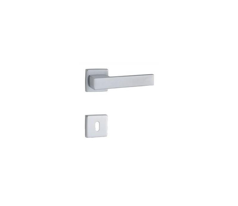 Interierová kľučka COBRA 29-23-5-S WC chróm matný