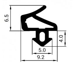 Tesnenie do PVC okien - profil SALAMANDER