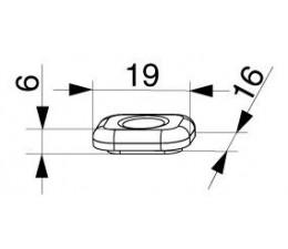 MACO Obmedzovač otváravého pohybu 90°