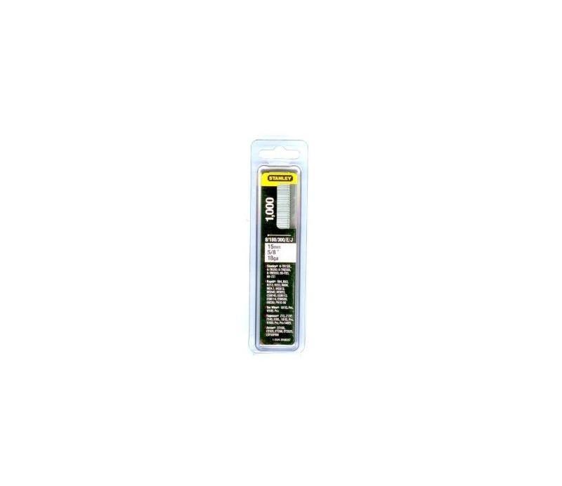 STANLEY - sponkovacie klince kolárske 15mm1000ks  1-SWK-BN0625T