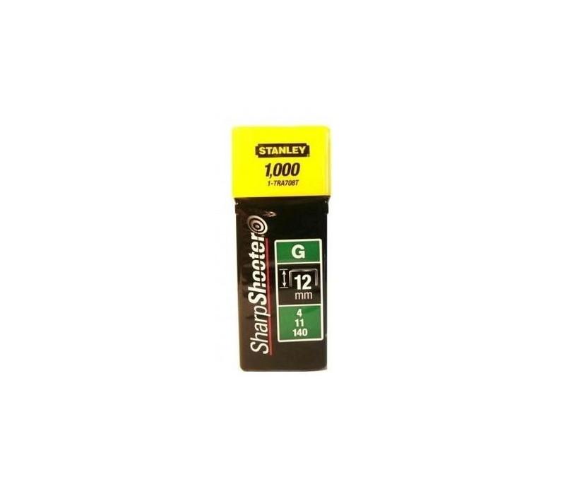 STANLEY - sponky HD TypG 12mm, 1000ks  1-TRA708T