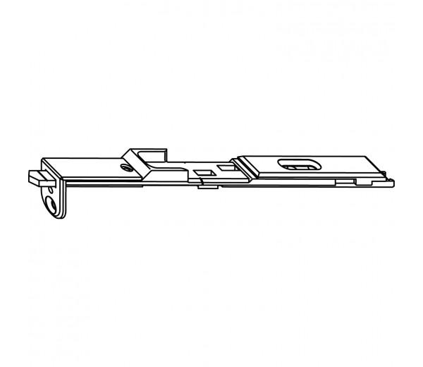 MACO horné ukončenie štulpovej prevodovky pre drážku 7/8 / euronut /  s výsuvnym trňom