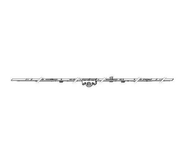 WINKHAUS otváravo-sklopná variabilná prevodovka 710-1050 mm