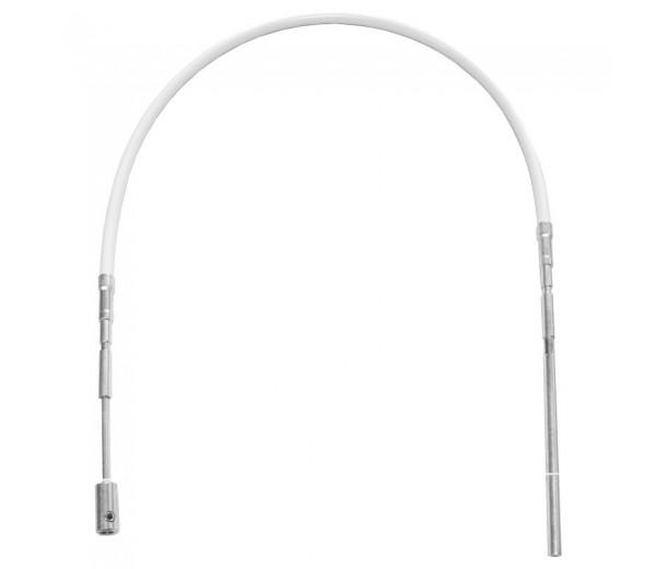 GEZE OL90N flexibilné tiahlo biele + strieborné 1000mm
