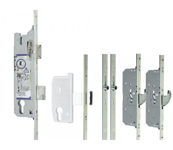 Zámok FUHR ovládaný kľúčom 855/45, 2H+2RL , 16/92/08 , 2170mm , K/G