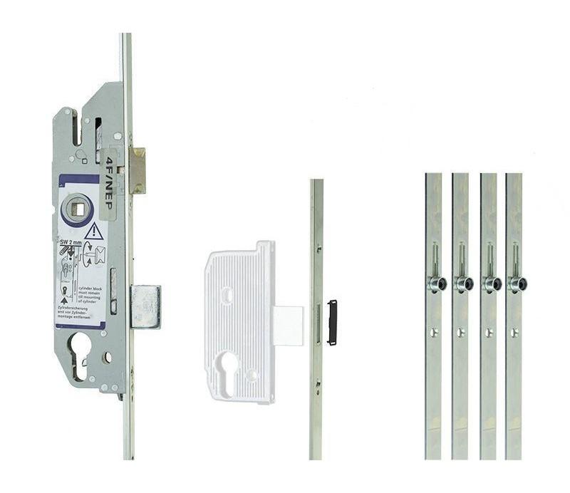 Zámok FUHR ovládaný kľúčom 855/45, 4RL , 20/92/08 , 2170mm , K/G