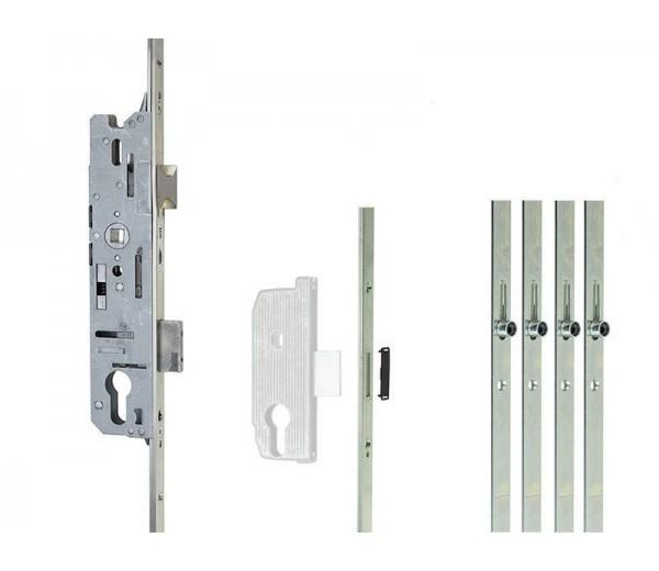 Zámok FUHR ovládaný kľučkou 856/45, 4RL , 16/92/08 , 2170mm , K/K