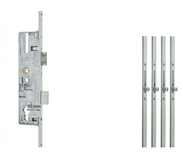 Dverový zámok  ROTO ovládaný kľúčom 4V 16/92/10 K/G