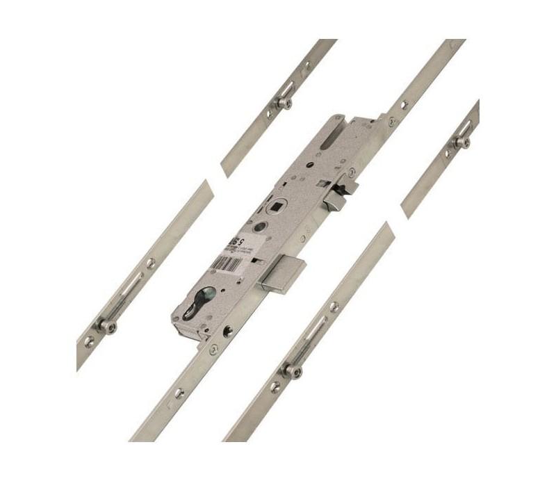 Dverový zámok MACO G-TS ovládaný kľučkou so 4xIS čapmi 92/20/8