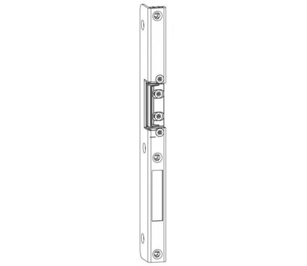 MACO hlavný dverový protiplech U8X18X32mm pravý aj na el. vrátnik drevo