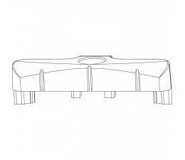 MACO rámový protikus pre PVC Gealan 3000+7000
